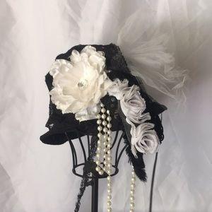 Vintage vibe Great Gatsby hat